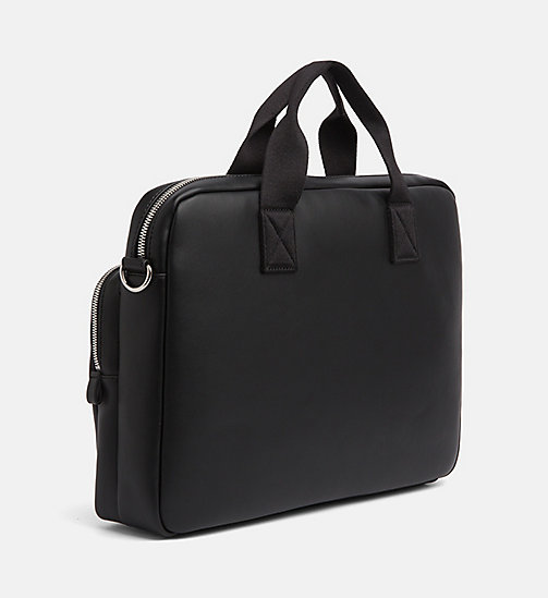 CALVIN KLEIN JEANS Slim Laptop Bag - BLACK - CALVIN KLEIN JEANS PACK YOUR BAG - detail image 1