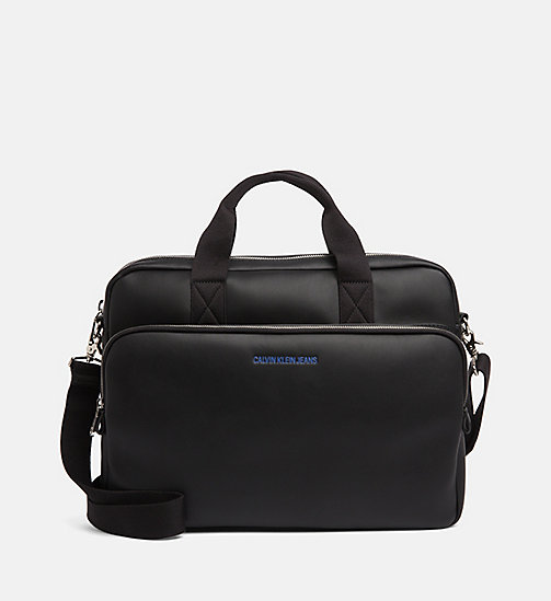 CALVIN KLEIN JEANS Slim Laptop Bag - BLACK - CALVIN KLEIN JEANS PACK YOUR BAG - main image