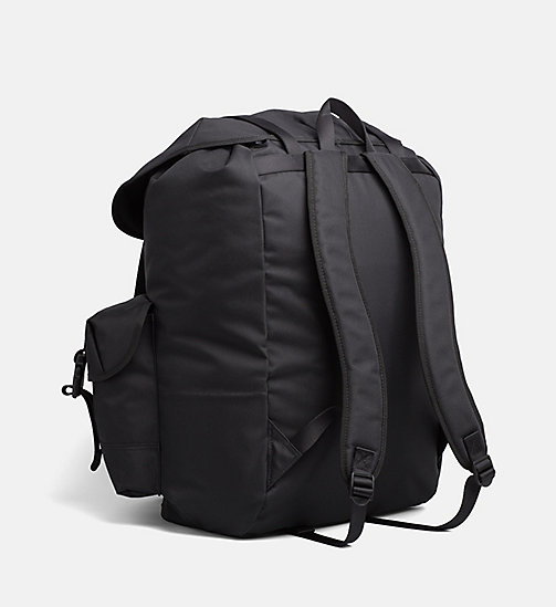 CALVIN KLEIN JEANS Large  Backpack - BLACK - CALVIN KLEIN JEANS HIS AND HERS - detail image 1