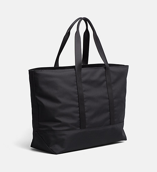 CALVIN KLEIN JEANS Large Tote Bag - BLACK - CALVIN KLEIN JEANS HIS AND HERS - detail image 1