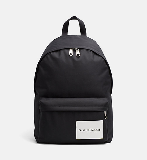 CALVIN KLEIN JEANS Backpack - BLACK - CALVIN KLEIN JEANS HIS AND HERS - main image
