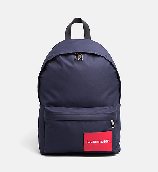 CALVIN KLEIN JEANS Backpack - NAVY - CALVIN KLEIN JEANS HIS AND HERS - main image