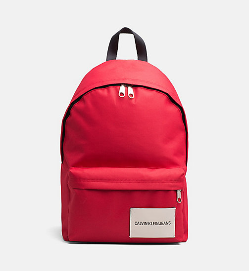 CALVIN KLEIN JEANS Backpack - SCARLET - CALVIN KLEIN JEANS NEW IN - main image