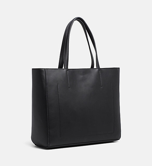 CALVIN KLEIN JEANS Logo Tote Bag - BLACK - CALVIN KLEIN JEANS PACK YOUR BAG - detail image 1