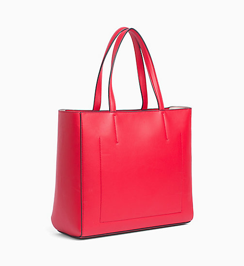 CALVIN KLEIN JEANS Logo Tote-Bag - SCARLET - CALVIN KLEIN JEANS PACK YOUR BAG - main image 1