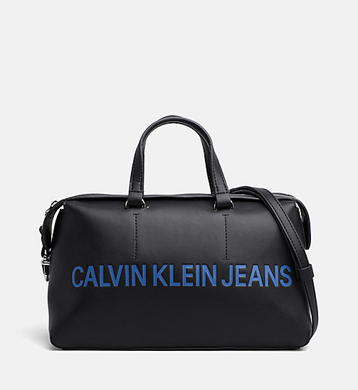 CALVIN KLEIN JEANS Logo Duffle Bag - BLACK - CALVIN KLEIN JEANS PACK YOUR BAG - main image