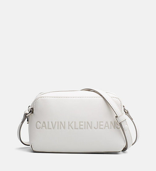 CALVIN KLEIN JEANS Crossover Camera Bag - COATED WHITE - CALVIN KLEIN JEANS PACK YOUR BAG - main image