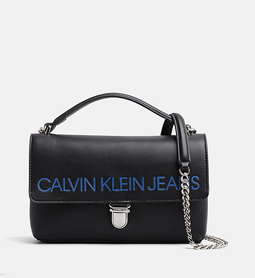CALVIN KLEIN JEANS Logo Crossover-Bag mit Klappe - BLACK - CALVIN KLEIN JEANS PACK YOUR BAG - main image