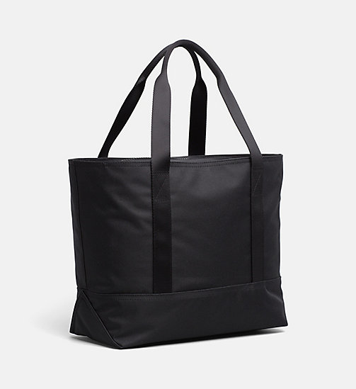 CALVIN KLEIN JEANS Medium Tote Bag - BLACK - CALVIN KLEIN JEANS HIS AND HERS - detail image 1