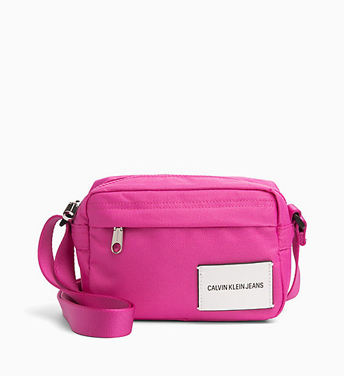 CALVIN KLEIN JEANS Crossover Camera Bag - WILD ORCHID - CALVIN KLEIN JEANS HIS AND HERS - main image