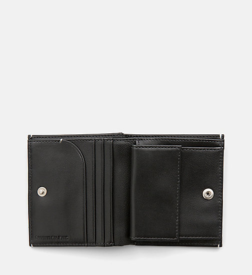 CALVIN KLEIN JEANS Leather Wallet - BLACK - CALVIN KLEIN JEANS NEW IN - detail image 1