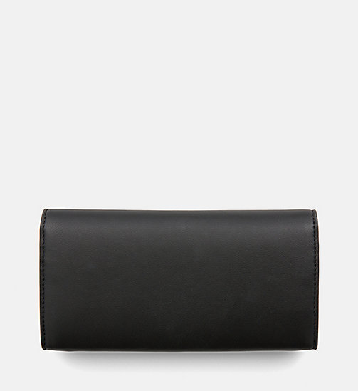 CALVIN KLEIN JEANS Long Fold Wallet - BLACK - CALVIN KLEIN JEANS PACK YOUR BAG - detail image 1