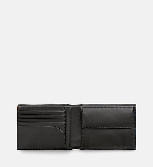 CALVIN KLEIN JEANS Leather Wallet - BLACK -  PACK YOUR BAG - detail image 1