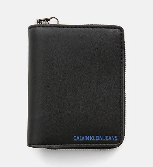CALVIN KLEIN JEANS French Wallet - BLACK - CALVIN KLEIN JEANS PACK YOUR BAG - main image