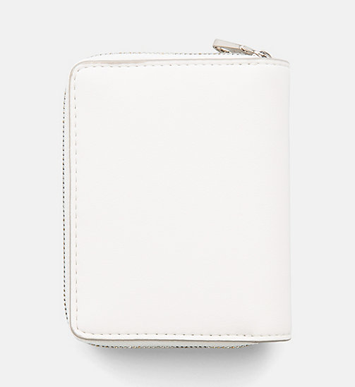 CALVIN KLEIN JEANS French Wallet - COATED WHITE - CALVIN KLEIN JEANS PACK YOUR BAG - detail image 1