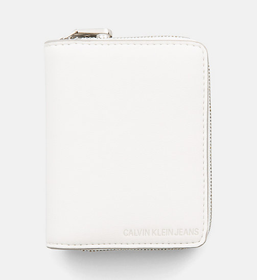 CALVIN KLEIN JEANS French Wallet - COATED WHITE - CALVIN KLEIN JEANS PACK YOUR BAG - main image