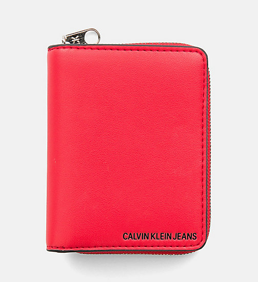 CALVIN KLEIN JEANS French Wallet - SCARLET - CALVIN KLEIN JEANS PACK YOUR BAG - main image
