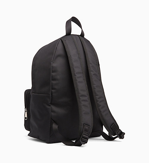 CALVIN KLEIN JEANS Round Backpack - BLACK SHINE -  BACKPACKS - detail image 1