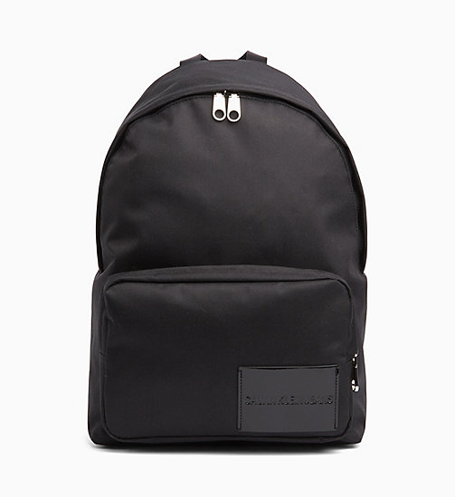 CALVIN KLEIN JEANS Round Backpack - BLACK SHINE - CALVIN KLEIN JEANS BACKPACKS - main image