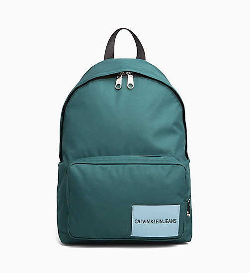 CALVIN KLEIN JEANS Round Backpack - JUNE BUG - CALVIN KLEIN JEANS BACKPACKS - main image