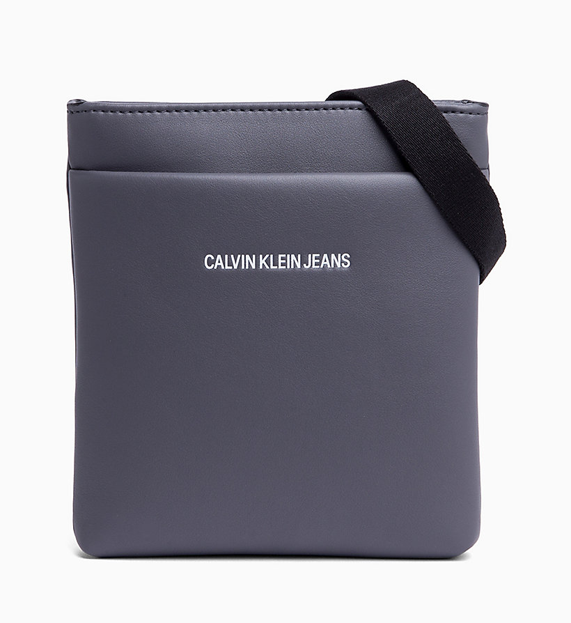 CALVIN KLEIN JEANS Micro Flat Cross Body Bag - BLACK - CALVIN KLEIN JEANS WOMEN - main image