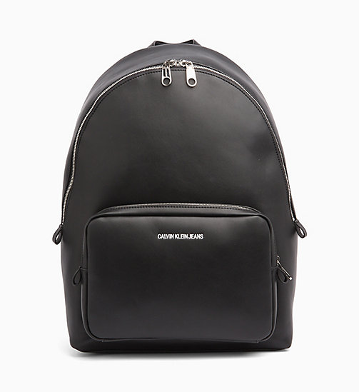 CALVIN KLEIN JEANS Large Round Backpack - BLACK - CALVIN KLEIN JEANS BACKPACKS - main image