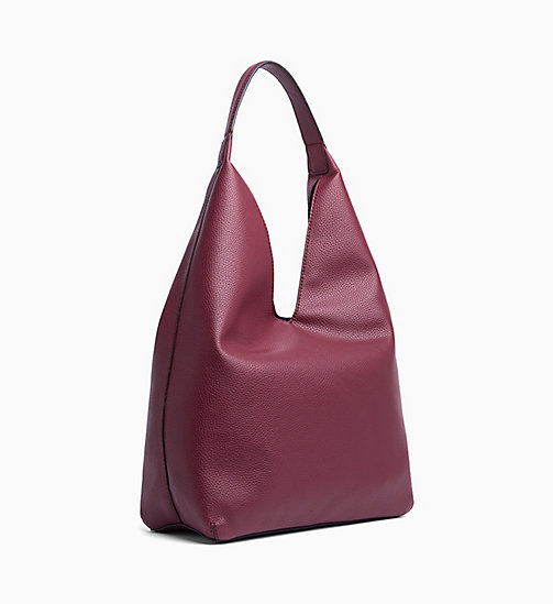 CALVIN KLEIN JEANS Weiche Hobo-Bag - TAWNY PORT - CALVIN KLEIN JEANS HOBO-BAGS - main image 1
