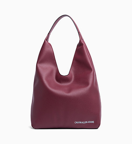CALVIN KLEIN JEANS Soft Hobo - TAWNY PORT - CALVIN KLEIN JEANS NEW IN - main image