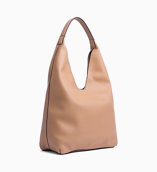 CALVIN KLEIN JEANS Soft Hobo - DARK TAN - CALVIN KLEIN JEANS ALL GIFTS - detail image 1