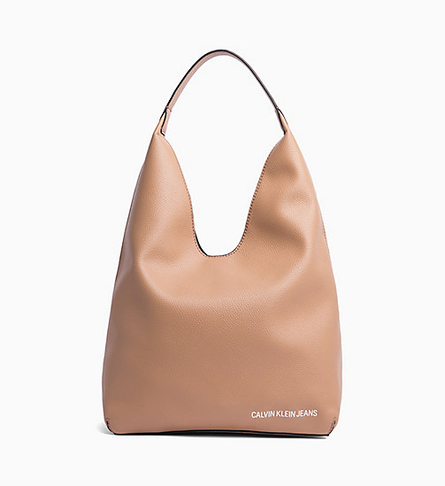 CALVIN KLEIN JEANS Soft Hobo - DARK TAN - CALVIN KLEIN JEANS NEW IN - main image