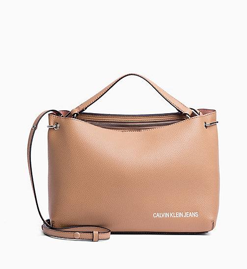 CALVIN KLEIN JEANS Satchel - DARK TAN - CALVIN KLEIN JEANS NEW IN - main image