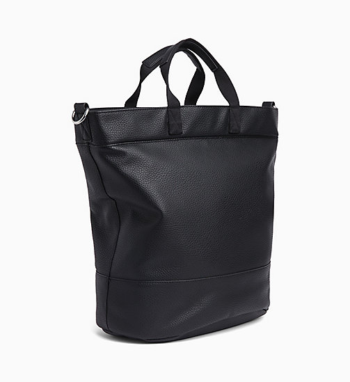 CALVIN KLEIN JEANS Circle Tote Bag - BLACK - CALVIN KLEIN JEANS WEEKEND BAGS - detail image 1