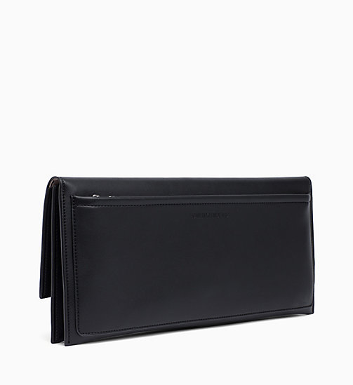 CALVIN KLEIN JEANS Clutch - BLACK - CALVIN KLEIN JEANS SHOES & ACCESSORIES - detail image 1