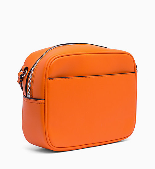 CALVIN KLEIN JEANS Cross Body Bag - ORANGE TIGER - CALVIN KLEIN JEANS CROSSOVER BAGS - detail image 1