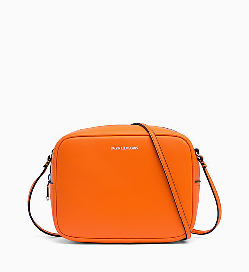 CALVIN KLEIN JEANS Cross Body Bag - ORANGE TIGER - CALVIN KLEIN JEANS CROSSOVER BAGS - main image