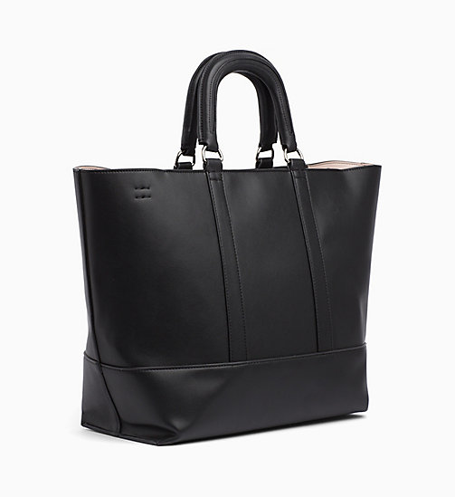 CALVIN KLEIN JEANS Medium Tote Bag - BLACK - CALVIN KLEIN JEANS The New Off-Duty - detail image 1