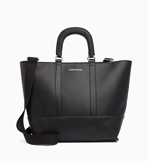 CALVIN KLEIN JEANS Medium Tote-Bag - BLACK - CALVIN KLEIN JEANS NEW IN - main image