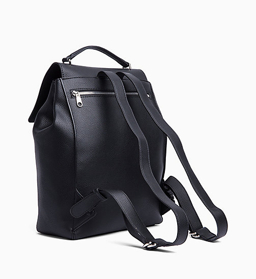 CALVIN KLEIN JEANS Backpack - BLACK - CALVIN KLEIN JEANS SHOES & ACCESSORIES - detail image 1