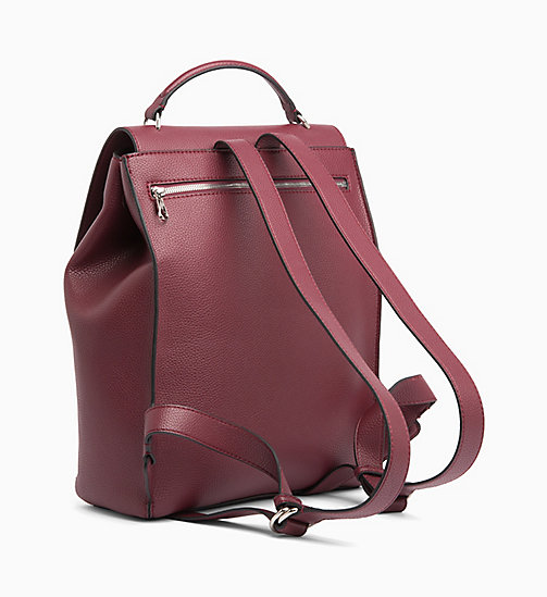 CALVIN KLEIN JEANS Backpack - TAWNY PORT - CALVIN KLEIN JEANS BACKPACKS - detail image 1