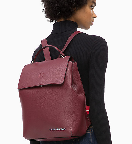CALVIN KLEIN JEANS Backpack - TAWNY PORT - CALVIN KLEIN JEANS ALL GIFTS - detail image 1