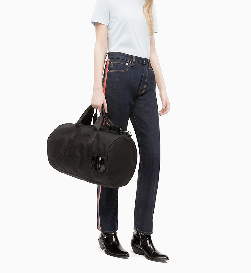 CALVIN KLEIN JEANS Barrel Duffle Bag - JUNE BUG - CALVIN KLEIN JEANS WOMEN - detail image 4