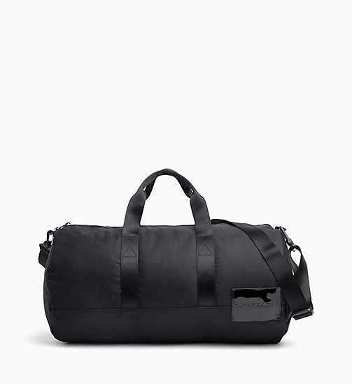 CALVIN KLEIN JEANS Barrel Duffle Bag - BLACK SHINE - CALVIN KLEIN JEANS CROSSOVER BAGS - main image
