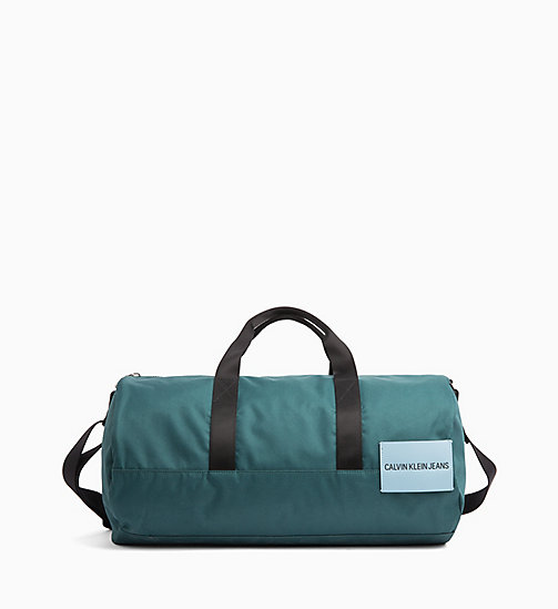 CALVIN KLEIN JEANS Barrel Duffle Bag - JUNE BUG - CALVIN KLEIN JEANS CROSSOVER BAGS - main image
