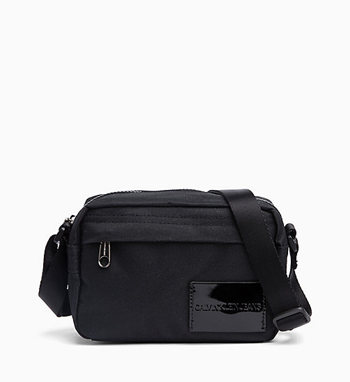 CALVIN KLEIN JEANS Cross Body Bag - BLACK SHINE -  NEW IN - main image