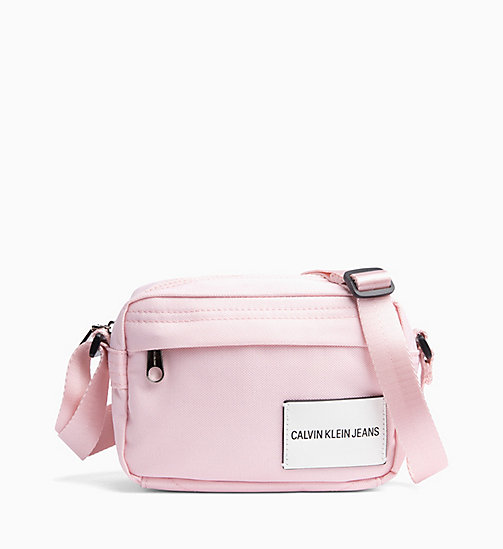 CALVIN KLEIN JEANS Cross Body Bag - CHINTZ ROSE - CALVIN KLEIN JEANS BAGS - main image