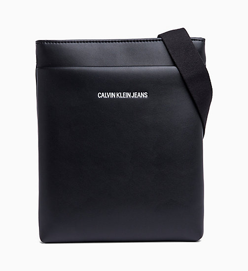 CALVIN KLEIN JEANS Flat Cross Body Bag - BLACK - CALVIN KLEIN JEANS WOMEN - main image