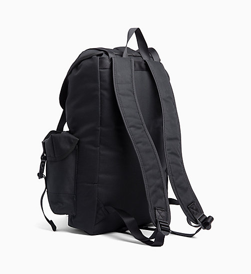CALVIN KLEIN JEANS 3-Pocket Backpack - BLACK - CALVIN KLEIN JEANS BACKPACKS - detail image 1