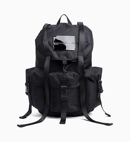 CALVIN KLEIN JEANS 3-Pocket Backpack - BLACK - CALVIN KLEIN JEANS BACKPACKS - main image