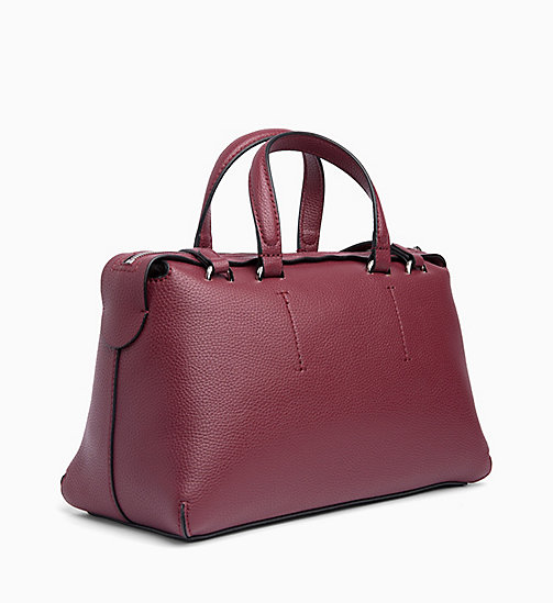 CALVIN KLEIN JEANS Barrel Duffle Bag - TAWNY PORT - CALVIN KLEIN JEANS NEW IN - detail image 1