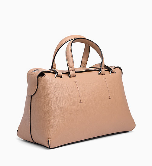 CALVIN KLEIN JEANS Barrel Duffle Bag - DARK TAN - CALVIN KLEIN JEANS NEW IN - detail image 1